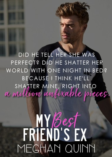 Image result for my best friend's ex meghan quinn pre order blast